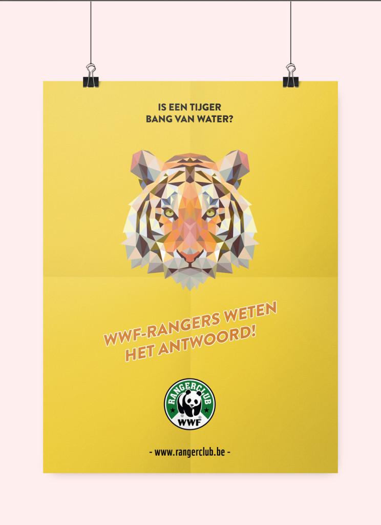 wwf tijger poster